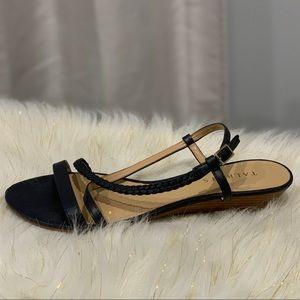 Talbots blue strappy sandals size 8.5